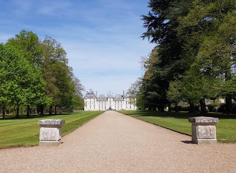 La façade symétrique de Cheverny a inspiré le Château de Moulinsart, immortalisé par Hergé dans la saga des Tintin - DR : A.B.