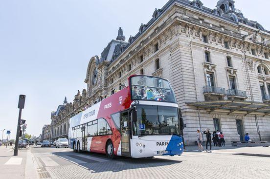 Le 18 juin 2018, une décision du Conseil d'État a précisé qu'Île-de-France Mobilités était l'autorité compétente en matière d'organisation de ces transports touristiques. - DR Opentour