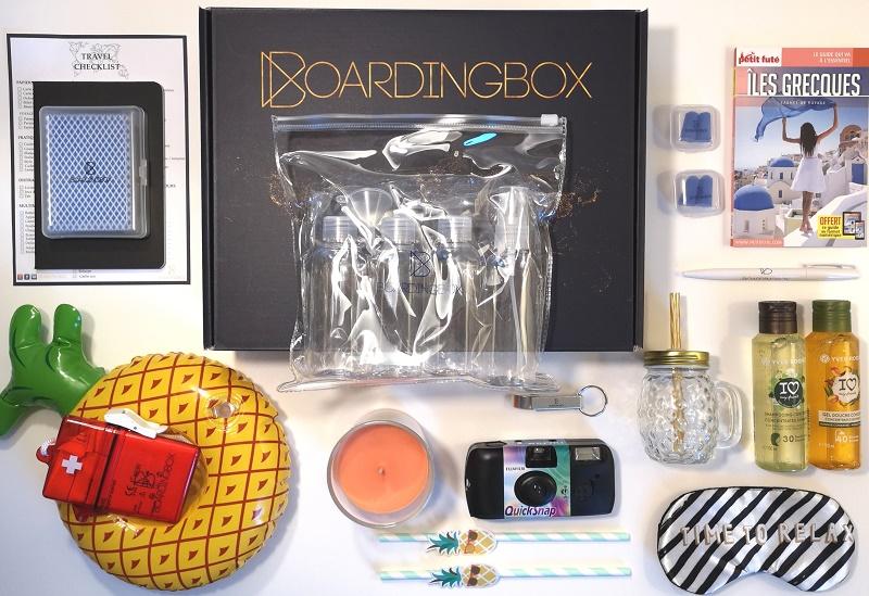 Un exemple de box cadeau envoyé aux clients par Boarding Box - Crédit photo : Boarding Box