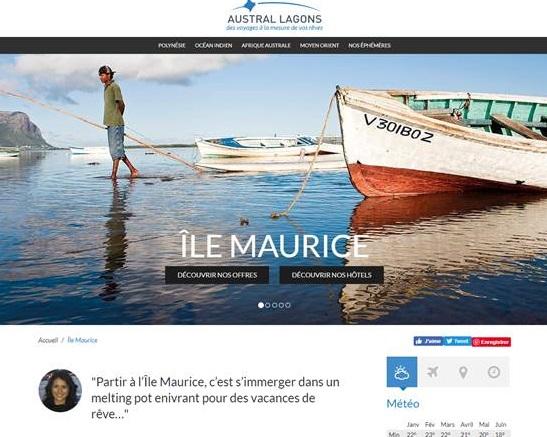 Île Maurice : Austral Lagons propose des bons d'achat pour les AGV jusqu'à 50 €