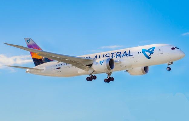 L'immobilisation obligatoire des 2 B787-8 d'Air Austral suite à un service bulletin émis par le constructeur Rolls Royce a contraint la compagnie à affréter des avions à l'extérieur avec des conséquences fortement négatives en termes d'image - DR : Air Austral