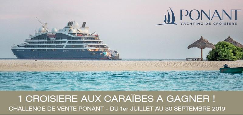 A GAGNER 1 CROISIERE DE 12 NUITS pour 2 personnes AUX CARAÏBES au départ de Fort de France à bord du Dumont d'Urville - DR