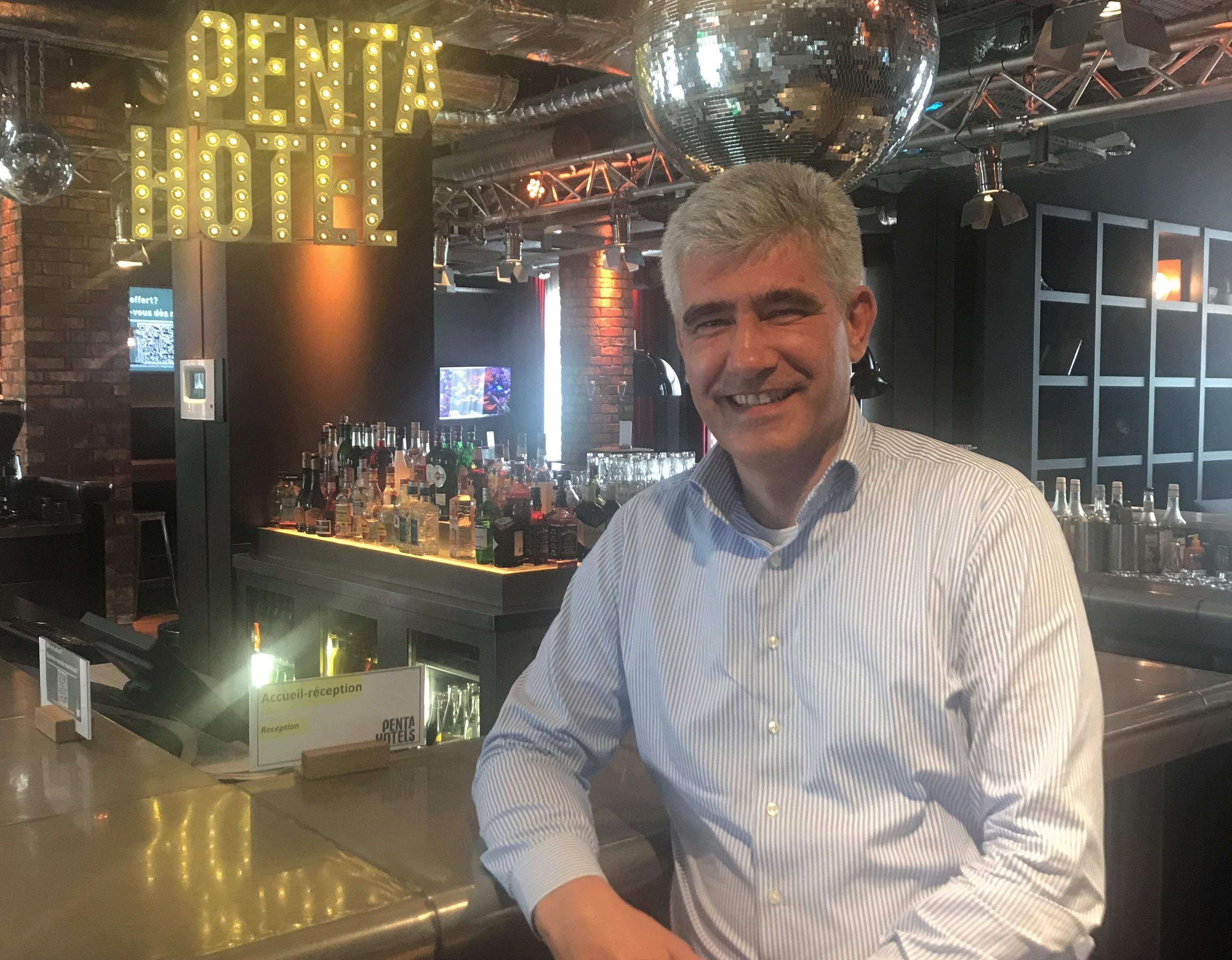 Sascha Rosski apporte à l'équipe de Penta plus de 20 ans d'expérience dans l'industrie hôtelière ainsi qu'une passion pour la culture et les voyages - DR : Pentahotels