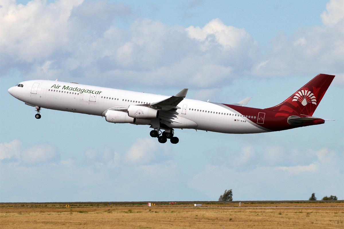 A qui sont les A340 d'Air Madagascar ? © Anna Zvereva Wikimedia Commons