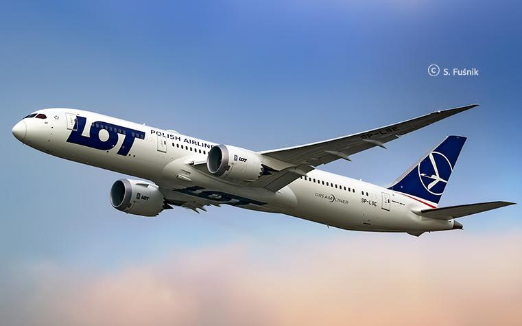 Le vol vers Pékin Daxing durera 8h40 et sera opéré en Boeing 787 Dreamliner tri-classes - DR : LOT