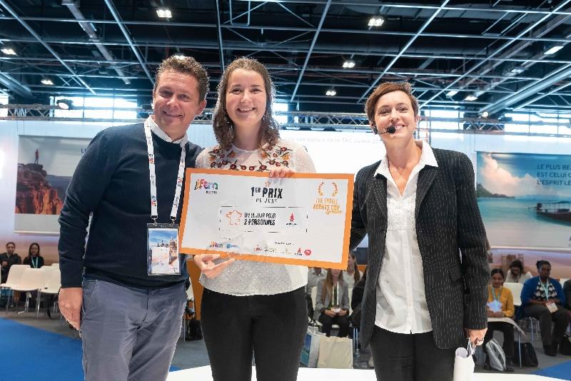 Léna Martinet, gagnante de première TAC Junior en 2018 - DR IFTM