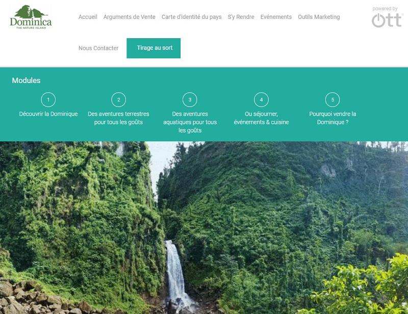 E-learning de La Dominique pour les agents de voyages et TO - DR