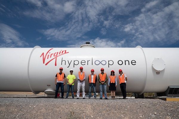 Hyperloop : Virgin signe avec l'Arabie Saoudite pour créer une piste de test de 35km - Crédit photo : Virgin Hyperloop One