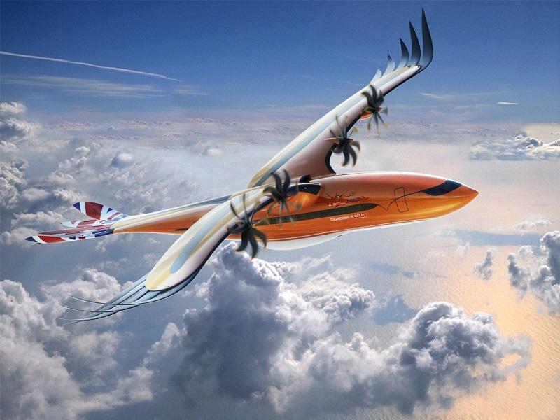 Le concept d'avion hybride dévoilé par Airbus - DR