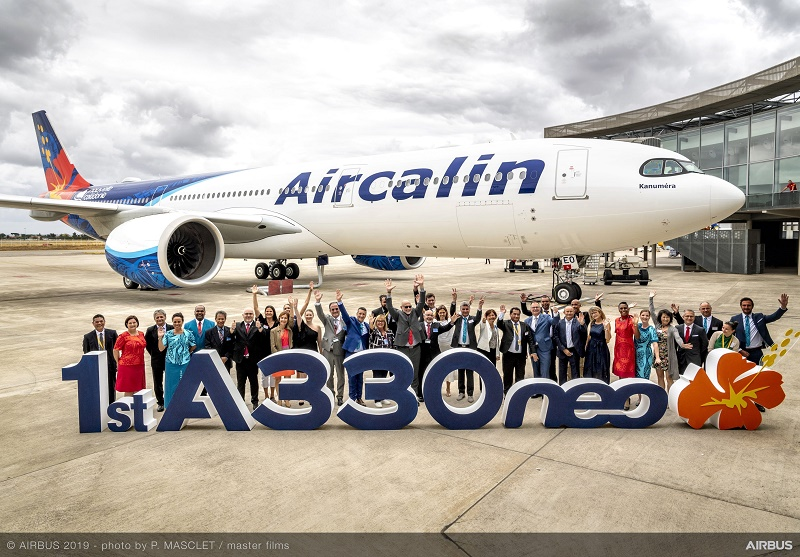 Nouvelle-Calédonie : Aircalin entame sa néo-métamorphose