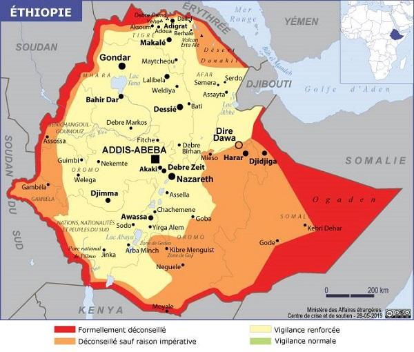 Ethiopie : flambée de violence dans le sud-ouest du pays - Crédit photo : Quai d'Orsay