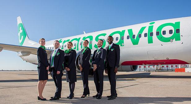 Transavia : La compagnie pourra accélérer son offensive sur le marché très concurrentiel du low-cost,au départ d'Orly et de la province - DR Transavia