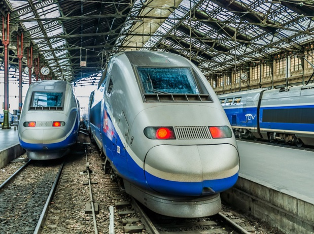 Dans ce contexte la Grande Vitesse ferroviaire confirme son dynamisme : +16,9% de trafic sur le semestre en France hors filiales (+ 11% si on tient compte des effets de la grève).  Depositphotos.com Auteur STYLEPICS