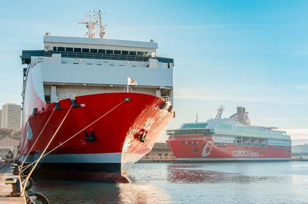 Corsica Linea vient de commander un nouveau navire propulsé au GNL au chantier italien Visentini - Crédit photo : Corsica Linea