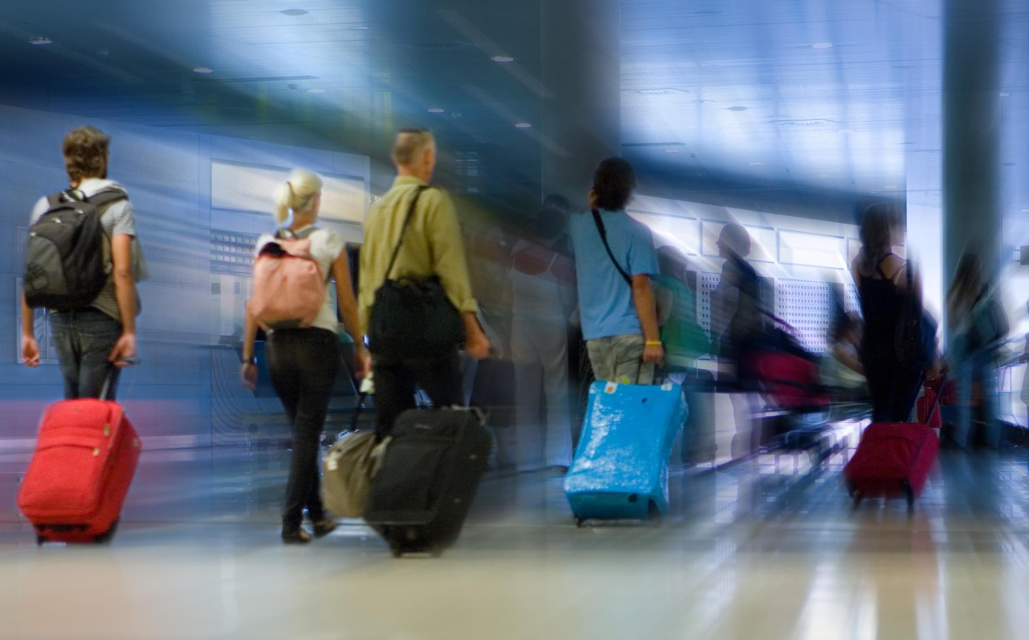 Les tensions internationales ont affecté la croissance du trafic passagers /crédit DepositPhoto