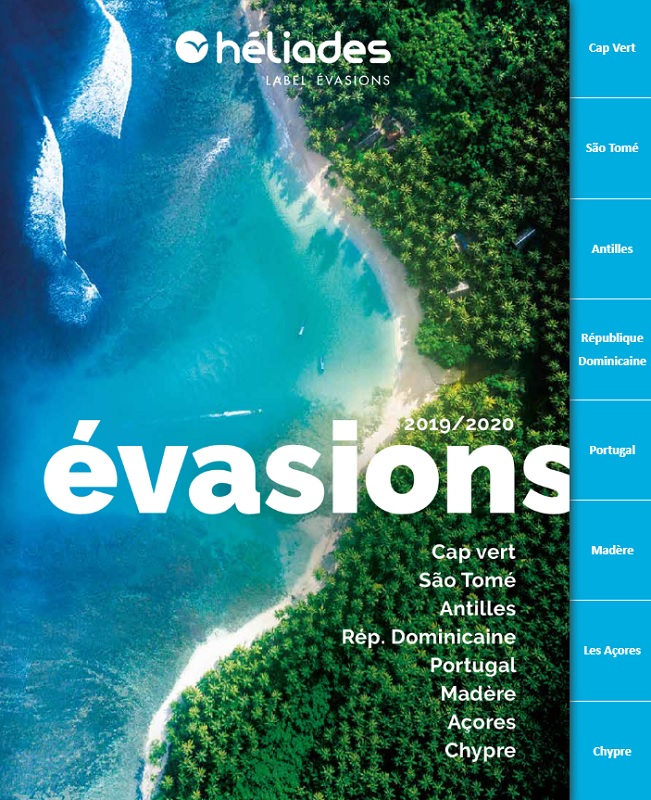 Héliades : lancement de la brochure Évasions 2019/2020