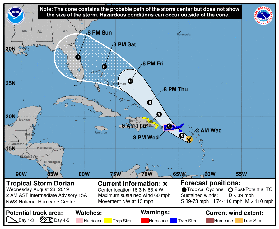 Image du National Hurricane Center and Central Pacific Hurricane Center