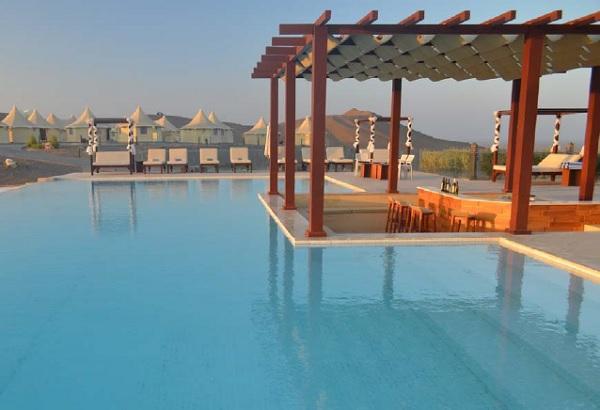 Vue de l'hôtel Dunes by Al Nahda que les participants de la 17e convention des EDV Grand-Est vont découvrir - Crédit photo : Hôtel Dunes by Al Nahda
