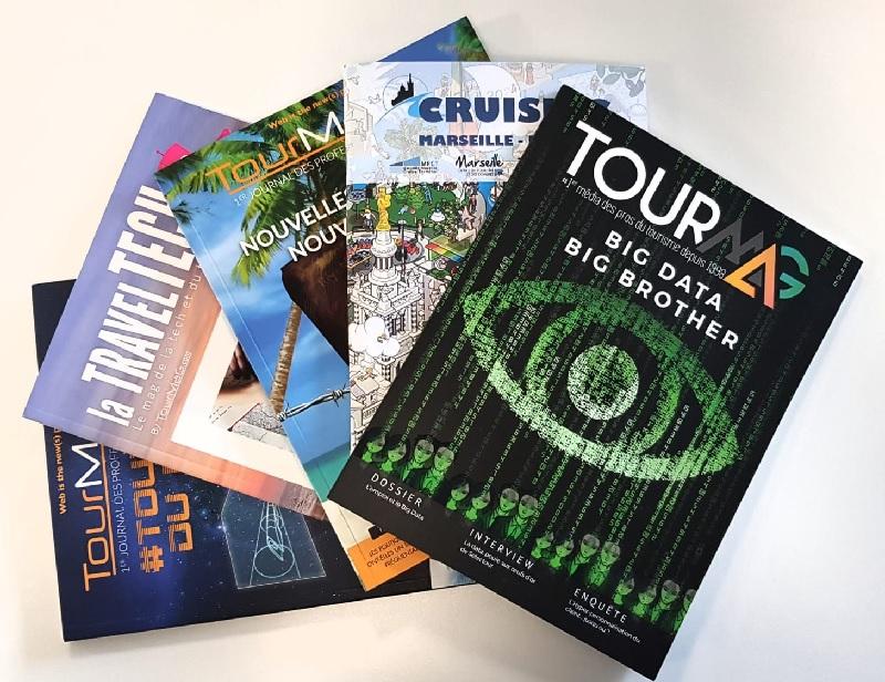 TourMaG.com édite depuis 4 ans plusieurs magazines papier. Le prochain sera à découvrir à l'occasion de l'IFTM Top Resa - DR