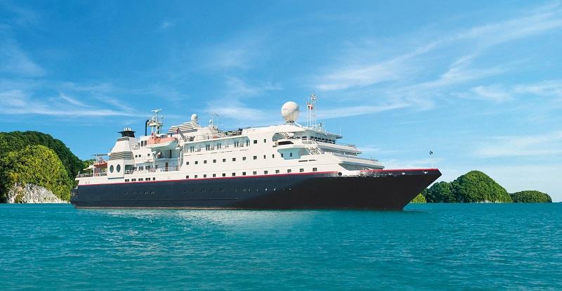 Le MV la Belle des Océans partira en octobre de Singapour pour une croisière en Thaïlande et Malaisie - Crédit photo : CroisiEurope