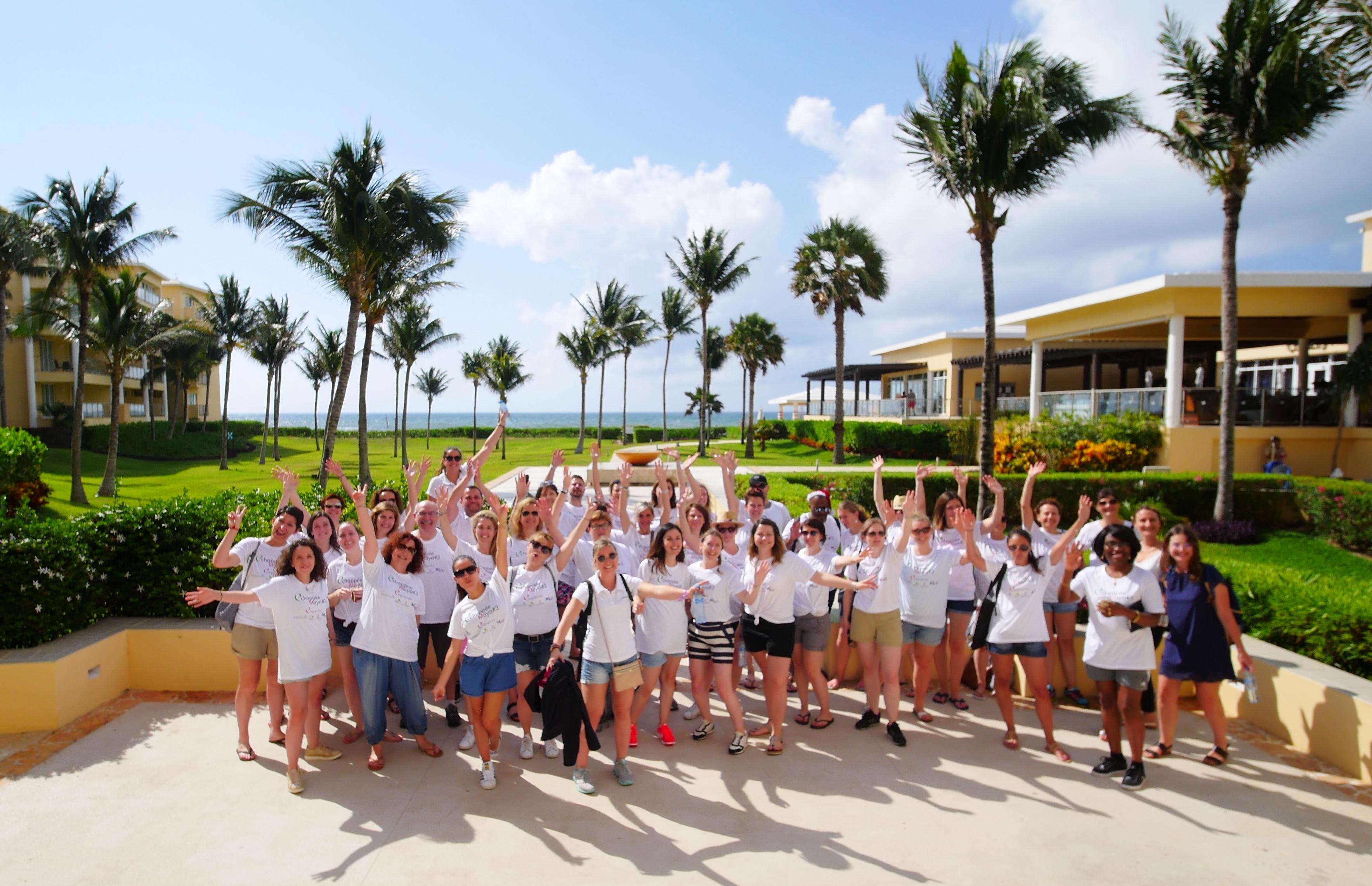 Avec son « Echappée Maya » 2019, Empreinte avait montré aux 35 agents de voyage invités sa parfaite connaissance de la destination / Crédit photo L. Medina