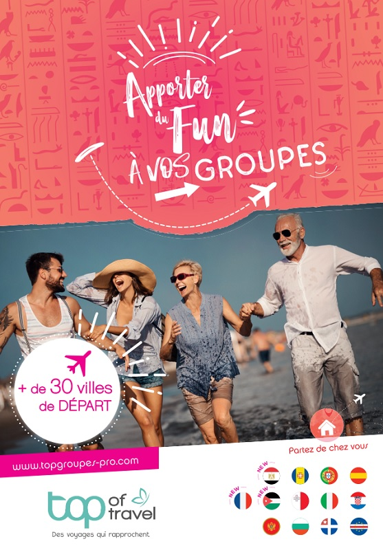 TOP of Travel : parution de la brochure Groupes et GIR 2020