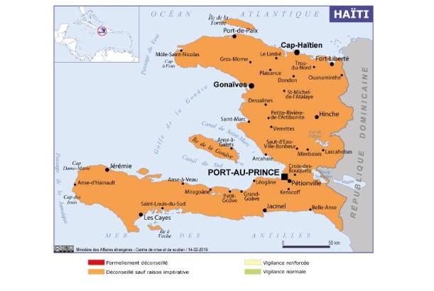 L'instabilité politique à Haïti et les tensions sociales font que les voyageurs doivent faire preuve de la plus grande prudence - crédit photo : Quai d'Orsay