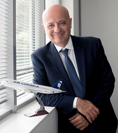Luc Bereni devient président du directoire d'Air Corsica - DR