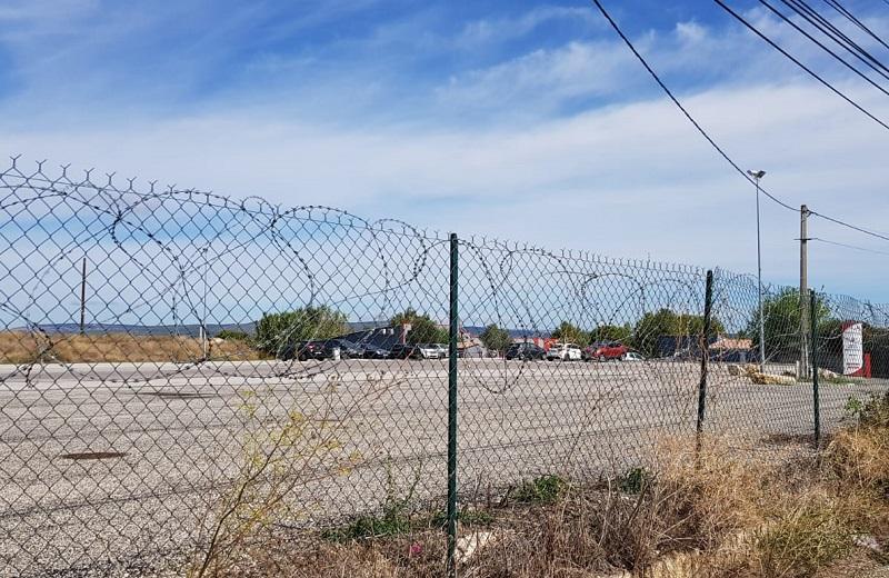 Sur le dépôt de Lançon, le parking a été vidé de ses autocars - DR : A.B.