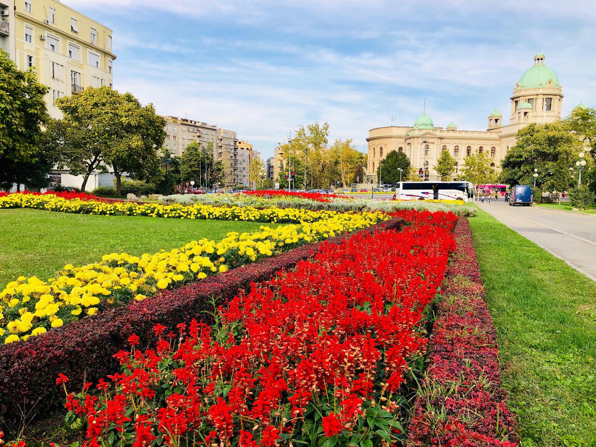 Belgrade attire aujourd'hui 97% du tourisme en Serbie /crédit photo JDL