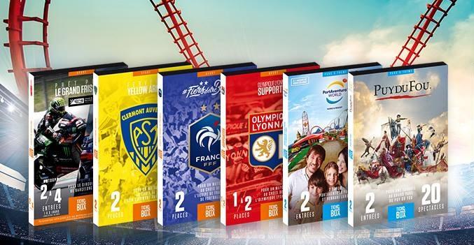La société réalise près de 4 M€ de CA avec sa collection « sport » et sa collection « parcs à thème » - DR : Tick&Box