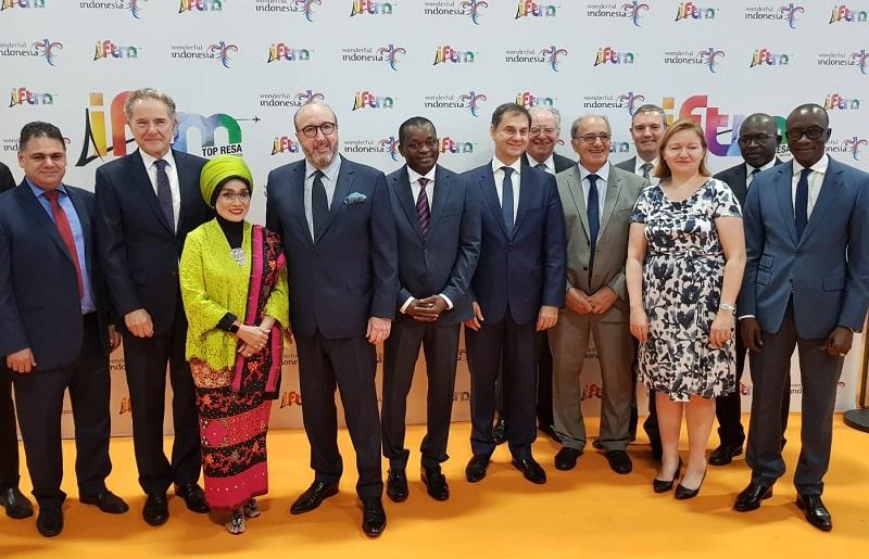 L'inauguration de l'IFTM Top Resa a eu lieu ce mardi 1er octobre 2019 - DR