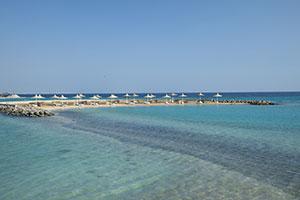 Plage du Mondi Club Coral Beach