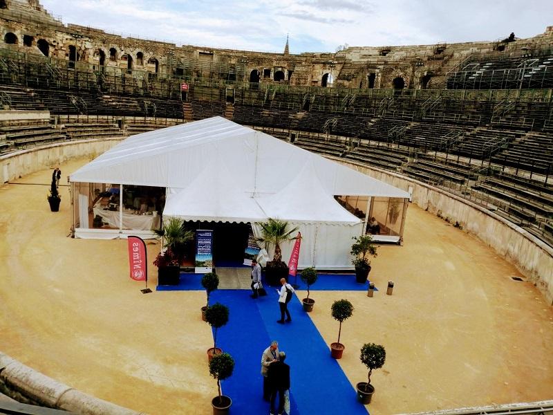 Le Workshop France Mediterrannée avait lieu à Nîmes cette année - Crédit photo : TourMaG_JP