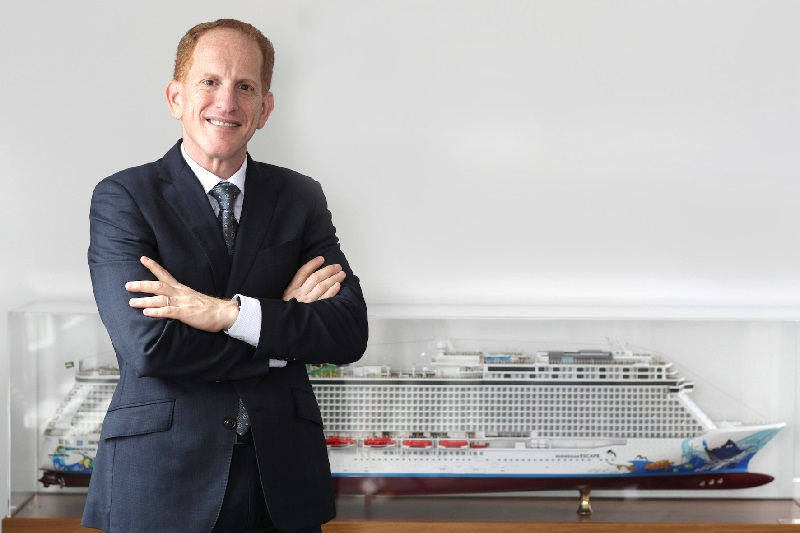 Harry Sommer - actuel President - International Norwegian Cruise Line Holdings et futur President and Chief Executive Officer de NCL - Photo DR
