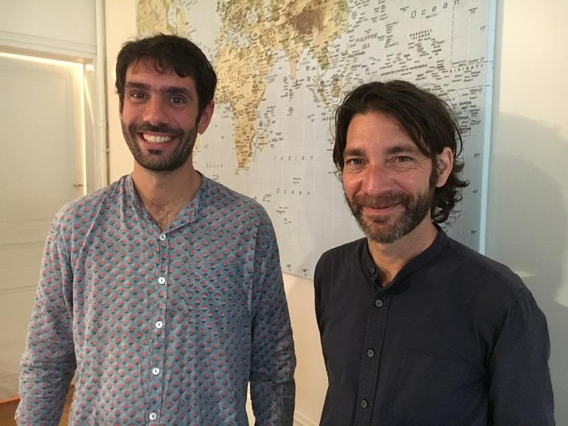 Jérémy Grasset, co-directeur et Alex Le Beuan, fondateur de Shanti Travel. - CL