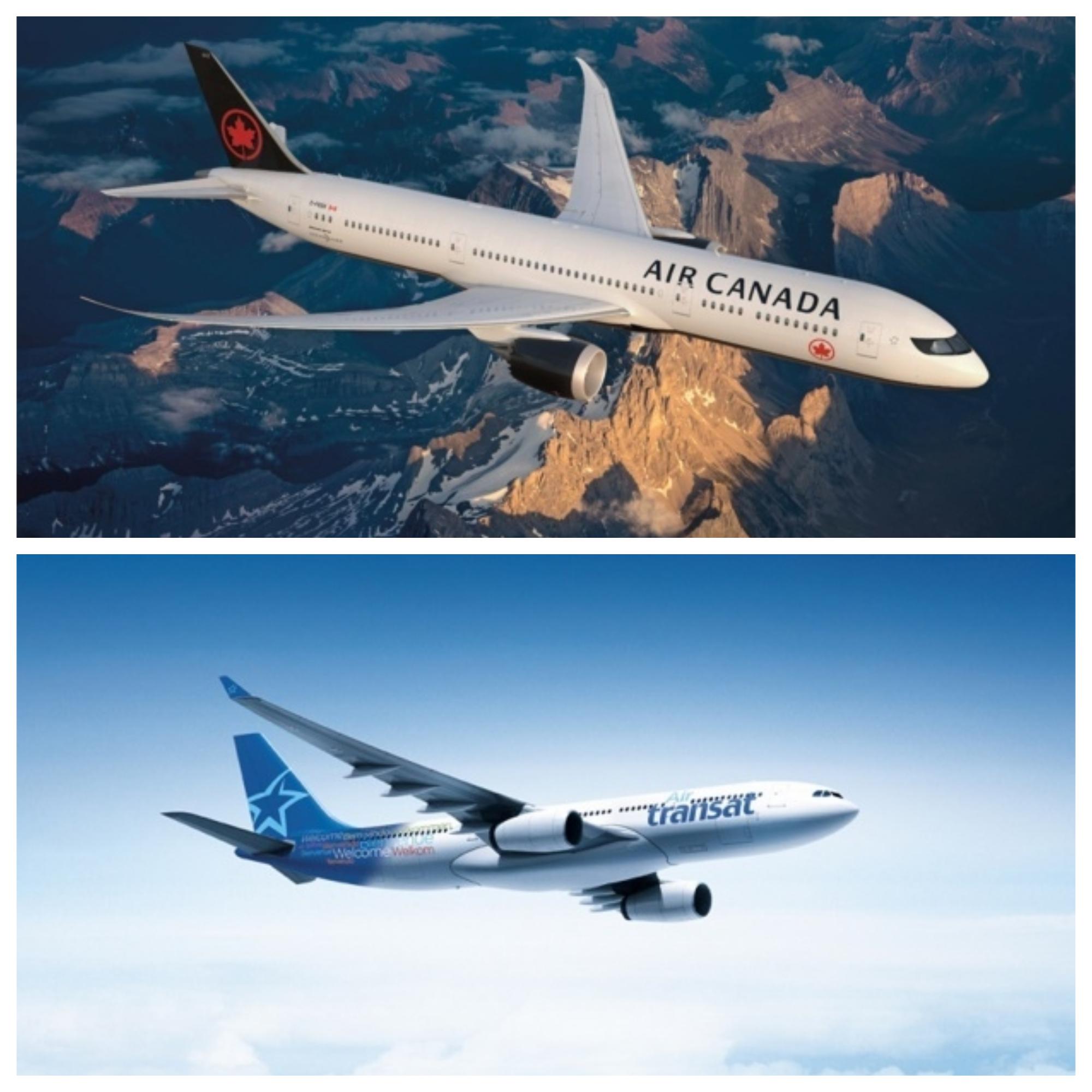D'ici à l'été prochain, Air Canada et Air Transat deviendront ensemble l'un des acteurs principaux des liaisons France / Amérique du Nord © DR
