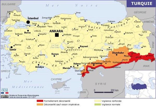 La Turquie vient de s'engager dans une opération militaire contre les Kurdes de Syrie - Crédit photo : Quai d'Orsay