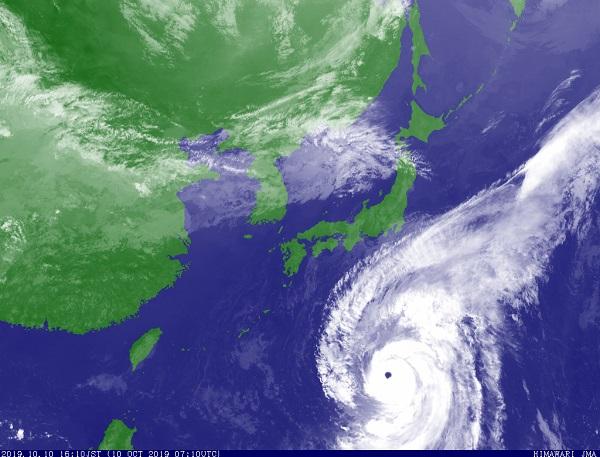 Le Japon se prépare au passage d'un typhon qui s'annonce comme l'un des plus puissants de la décennie - Crédit photo : JMA