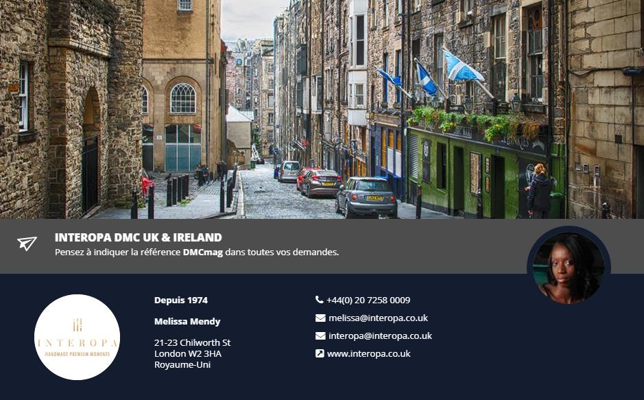 Interopa DMC UK & Ireland, spécialiste du Royaume-Uni et Irlande - DR