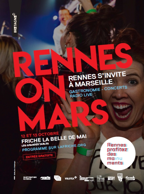 Rennes et la culture bretonne débarquent à Marseille