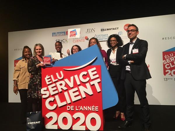 Corsair vient d'être désignée lauréate du prix « Elu du Service client de l'année 2020 » dans la catégorie Transport collectif de voyageurs - Crédit photo : Corsair