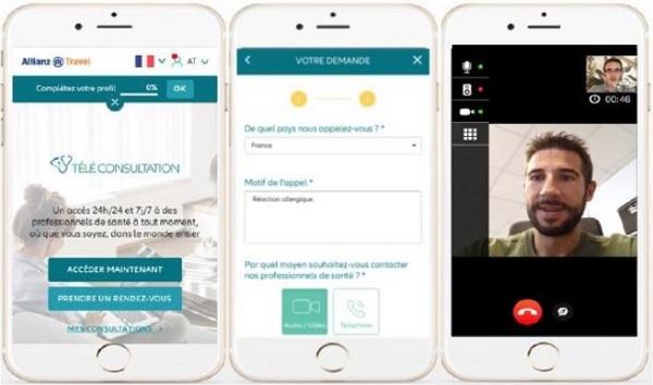 Allianz Travel propose la téléconsultation médicale aux voyageurs
