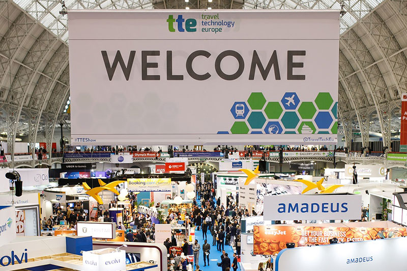 Bienvenue au salon Travel Technology Europe