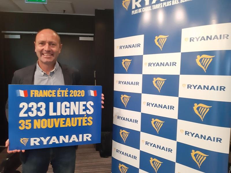 Kenny Jacobs, directeur marketing de Ryanair - DR : Ryanair