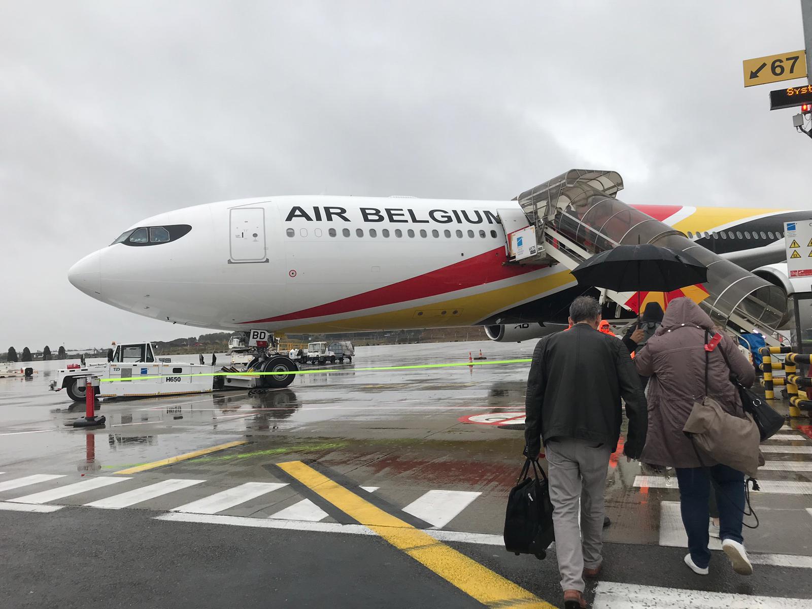 Au départ de Bruxelles-Charleroi, mercredi 16 octobre 2019, une centaine d'agents de voyages se sont envolés vers les Antilles © PG TM