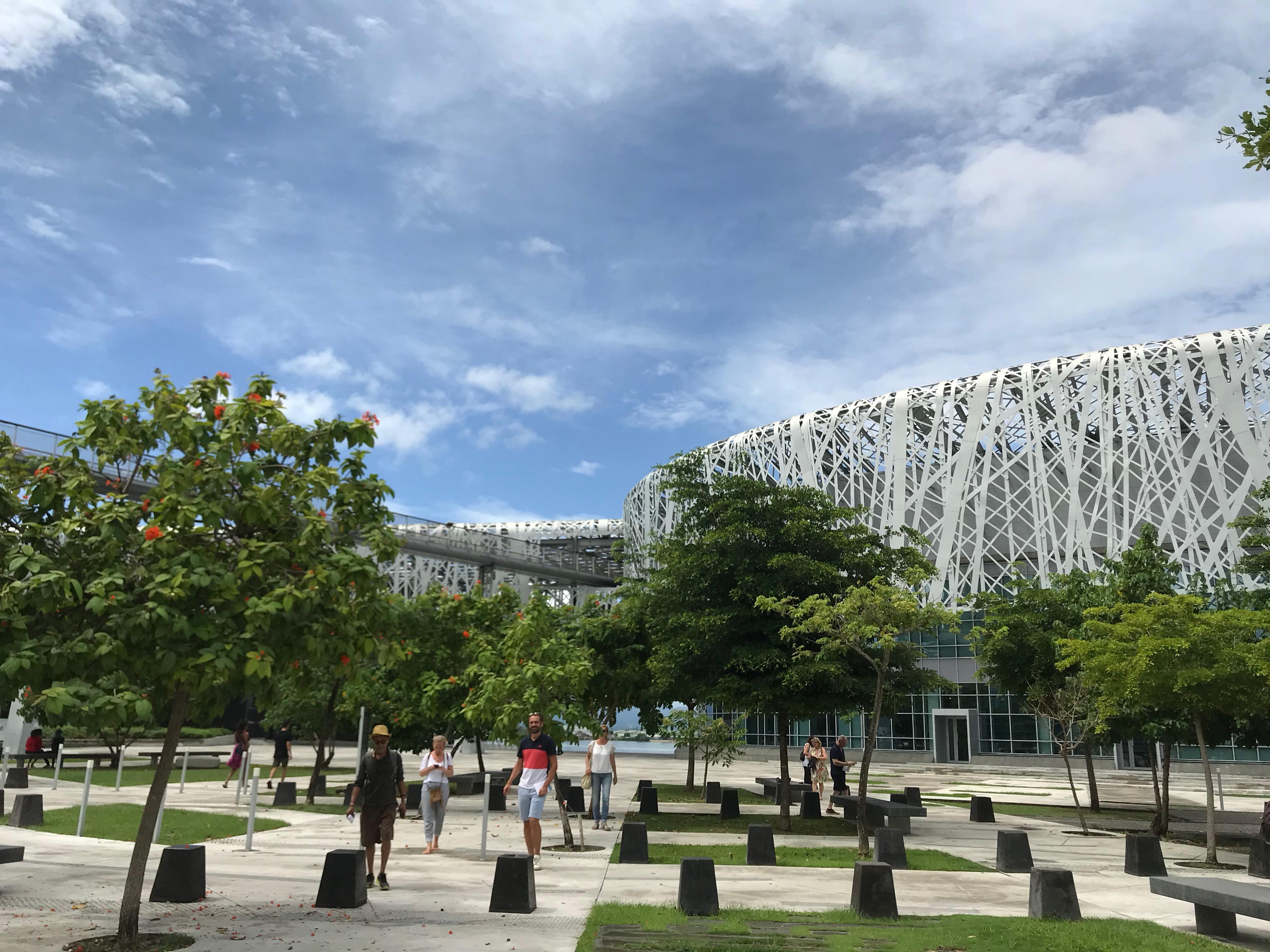 La Mémorial Acte, nouveau centre de mémoire de l'esclavage dans les Caraïbes © PG TM