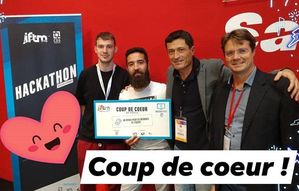 """the Treep a signé un partenariat de Recherche et Développement avec CDS Groupe, pour son idée de """"voucher vocal"""" - Crédit photo : The Treep"""