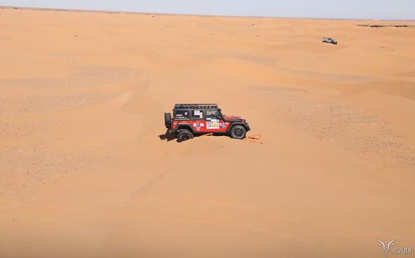 Armelle Medard Lang et Mourad Majoul seront sur la ligne de départ au volant d'une Jeep préparé par BUMPEROFFROAD. - DR