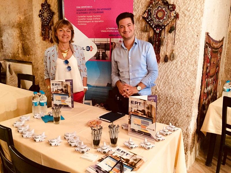 Muriel Deneau-Rouffignac, directrice de l'EPT Lyon et Mathieu Faurie, directeur national de l'EPT - DR : EPT
